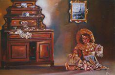 muñeca en parís de Sixto Aguilera Ortiz.