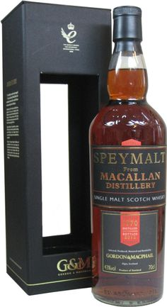The Macallan Speymalt 42 Year Old Single Malt Scotch Whisky. This single malt #Scotch #whisky was matured for over four decades in a cask that was previously used to mature sherry. | @Caskers