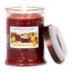 Add A Sweet And Y Scent To Any Room By Burning This Farmhouse Cider Jar Candle Sure Delight With Its Hints Of Le E Cinnamon 18 O