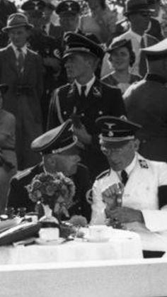Joachim Peiper and Heinrich Himmler