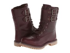 So what if you're a little rough around the edges!? These ultra-rad boots will complement you perfectly! Full grain leather upper is waterproof for any type of weather. Lace-up closure, adjustable buckles, and zipper closure provide a secure and adjustable fit. Breathable 100% recycled PET lining.