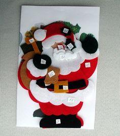 Felt Christmas Ornaments, Christmas Stockings, Christmas Crafts, Xmas, Christmas Ideas, Reindeer, Decoration, Wooden Tables, Halloween