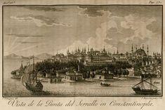 The palace of Top Kapi from the sea. - MORENO, José - 1790