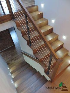 Schody na Beton 63 Staircase Design Modern, Modern Small House Design, Home Stairs Design, Duplex House Design, Interior Stairs, Lancaster House, Staircase Remodel, Steps Design, House Stairs