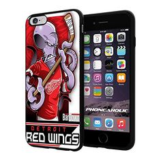 """NHL Detroit Red Wings , Cool iPhone 6 Plus (6+ , 5.5"""") Smartphone Case Cover Collector iphone TPU Rubber Case Black [By NasaCover] NasaCover http://www.amazon.com/dp/B012BCFBZ8/ref=cm_sw_r_pi_dp_5VnXvb121B41W"""