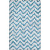 Found it at Wayfair - Barcelona White/Blue Area Rug