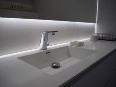 Pukkila Cementi Bianco / Honka Markki Sink, Bathroom, Lighting, Home Decor, Bath, Sink Tops, Washroom, Vessel Sink, Decoration Home
