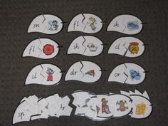 FREE Printable Letter Blends Puzzle - A hands on activity to teach or revise the learning of some letter blends. It is a fun activity that encourages kids to listen to the sounds in words and match them with the correct picture. Literacy Stations, Preschool Curriculum, Kindergarten Literacy, Early Literacy, Literacy Activities, Literacy Centers, Homeschooling, Reading Activities, Teaching Reading