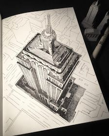 17 Best Sketsa Kota Images Urban Sketching Sketches Art Sketchbook