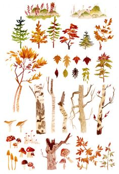 Props and patterns research for Yaga ! can you FEEL the AUTUMN