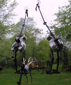 Dr. Evermore's  Scrap Metal Park