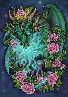 Beautiful Fantasy Art, Beautiful Fairies, Druid Tattoo, World Of Warcraft Wallpaper, Tattoos Familie, Tomb Raider Cosplay, Warcraft Art, Chicano Art, Fantasy Dragon