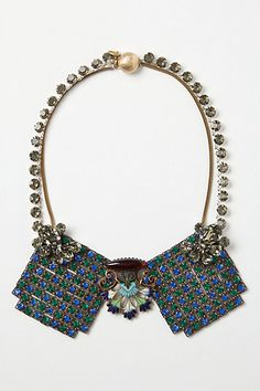 Structural collar necklace