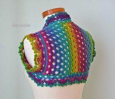 The Gingerbread Bunny: #Crochet Trend  - Rainbows