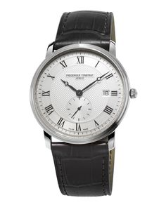 2622b55e884 Gents Classics Slimline Stainless Watch - Frederique Constant Watches For  Men