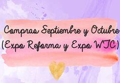 Compras Septiembre y Octubre (Expo Reforma y Expo Manualidades WTC) - http://cryptblizz.com/como-se-hace/compras-septiembre-y-octubre-expo-reforma-y-expo-manualidades-wtc/