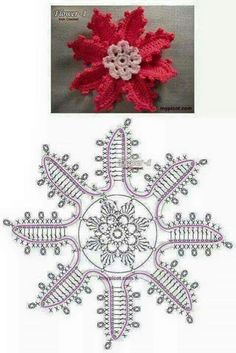 Watch This Video Beauteous Finished Make Crochet Look Like Knitting (the Waistcoat Stitch) Ideas. Amazing Make Crochet Look Like Knitting (the Waistcoat Stitch) Ideas. Crochet Leaves, Crochet Motifs, Knitted Flowers, Crochet Flower Patterns, Freeform Crochet, Crochet Diagram, Crochet Stitches Patterns, Crochet Chart, Thread Crochet