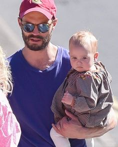"""1,970 Likes, 33 Comments - Jamie Dornan ITALY (@jamiedornanita) on Instagram: """"Jamie and his 2nd daughter last weekend ❤️ thanks to @fiftyshadesen  ____________________…"""""""