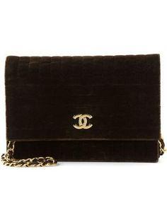 Amazing  CHANEL VINTAGE velvet shoulder bag #accessories #chanel #women #designer #covetme #chanelvintage