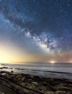 Low Tide Galaxy by Michael Shainblum.