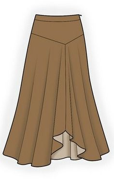 4186 PDF Personalized Skirt Pattern Women Clothing by TipTopFit, $2.49