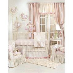 Glenna Jean Victoria 3 Piece Baby Crib Bedding Set-Nursery Décor-Babysupermarket