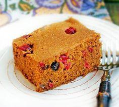 Gluten-Free Pumpkin Chai Bread with Cranberries
