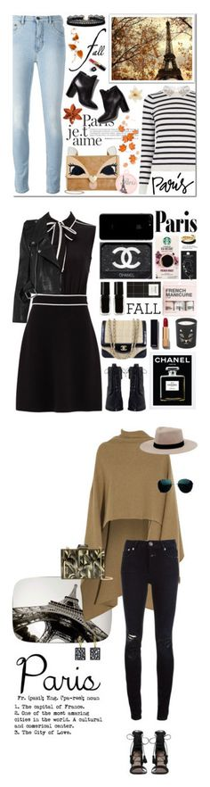 """""""Winners for I Love Paris in the Fall"""" by polyvore ❤ liked on Polyvore featuring Oasis, Chanel, Again, Betsey Johnson, Pierre Hardy, Azalea, Boutique Moschino, Vetements, Zimmermann and The New Black"""
