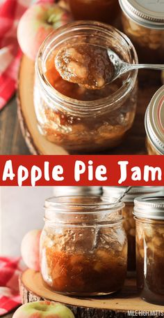 Do you have too many apples from going apple picking? Or do you just love apples? This Apple Pie Jam is for all you apple lovers. It's Apple Pie flavor (think apples, cinnamon, allspice, brown sugar) in jam form! You can spread it on top of any baked good or add it to yogurt (my personal fave!). These jars are also canned to enjoy later, and make great Holiday gifts.