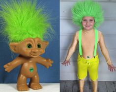*Rook No. 17: recipes, crafts & whimsies for spreading joy*: Easy Troll Doll Halloween Costume