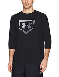 Under Armour Mens Plate Icon 3 4 Tee Shirt Review Under Armour c98245ca6
