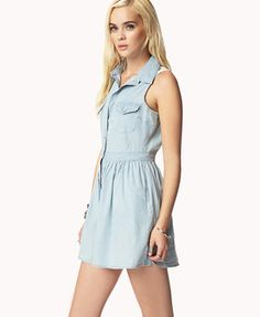 Chambray Dress | #FashionFinds #Chambray #Dresses #SummerDress #Fashion