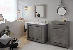 55 Bathroom Furniture Set Mirror Color Olme Gray 2019 Check more at www. Bathroom Vanity, Home, Kitchen Design, Bathroom Furniture Sets, Furniture, Modern, Mirror, Color, Bathroom