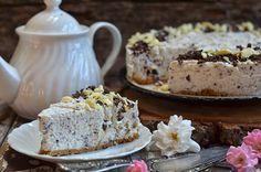 łatwy sernik na zimno straciatella Krispie Treats, Rice Krispies, Cheesecakes, Sweet Recipes, Banana Bread, Food And Drink, Cooking Recipes, Food Ideas, Blog