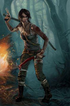 Lara Croft - Tomb Raider by Terribilus.