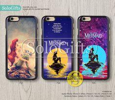 little mermaid Ariel iPhone 6 case iPhone 6 Plus case Disney iPhone case iPhone 5 case, iPhone 5S Case, Galaxy S5 S4 S3 Note 2 Note 3, A0793