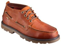 Sperry Authentic Original Waterproof Lug Chukka Boots for Men - Tan - 8.5 M