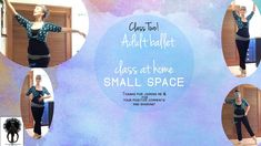 Small Space Adult Ballet Class Two Ballet Inspired Fashion, Adult Ballet Class, Positive Comments, Professional Dancers, Free Tips, Ballet Dancers, Small Space, Improve Yourself, About Me Blog