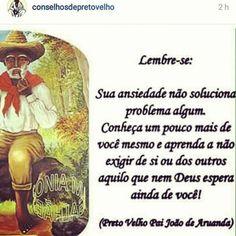 umbandasaber:  #umbanda #umbandasaber #axé #pretovelho  Meu...
