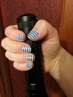 Navy Stripe (matte)