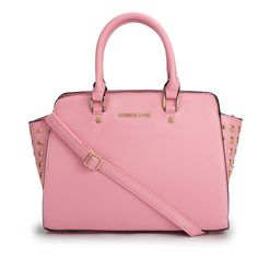 Want To Get The Michael Kors Selma Top-Zip Grommet Large Pink Satchels? Will You Be Good Enough To Get It! #MichaelKorsBags