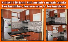 Penggunaan kitchen set akan membuat ruang dapur terlihat lebih rapi. Selain itu kitchen set disesuai dengan keinginan Anda ? model yang modern atau minimalis ? Tak perlu ragu menghubungi kami  Biaya Hemat, Kerja Cepat, Hasil Memikat PASTI #DWISINDO Segera Hubungi kami : 021- 29360754 / HP. 082225631448
