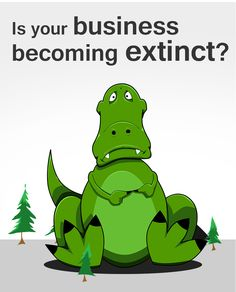 Flyer - Is your business becoming extinct?
