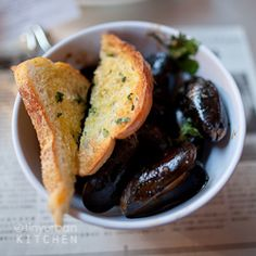 Wok Roasted Mussels with lemongrass from Myers + Chang in Boston