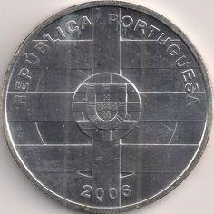 Motivseite: Münze-Europa-Südeuropa-Portugal-Euro-10.00-2006-Portugal-Espanha