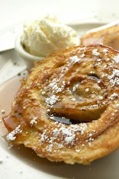 Cinnamon roll french toast recipe that is so easy kids can make it!