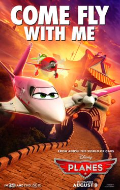 Planes - august 2013 by (Walt) Disney movie poster Disney Cars, Walt Disney Movies, Disney Magic, Disney Pixar, Pixar Movies, Disney Fun, Hd Movies, Disney Planes Characters, Planes Movie