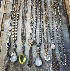 One-of-a-kind handmade, vintage inspired jewelry. Email LisaJilljewelry@gmail.com