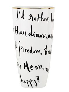We love this vase by @kate spade new york