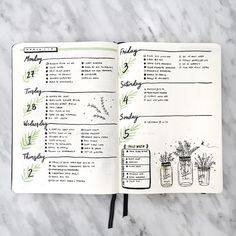 http://www.bulletjournalcollection.com/2017/03/soft-pretty-weeklies.html